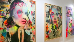 Cutting-edge artwork from over 160 galleries