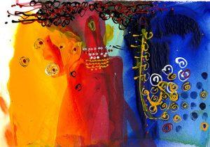 Artblend | Soulful Jazz Singer, Moody Sax Player – Christine Alfery