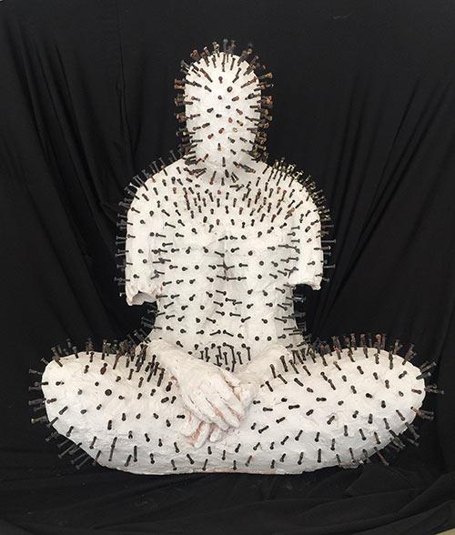 artblend | She Buddha | Andrea Broyles