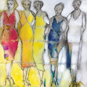 Marianne Enhorning Design   Five Women