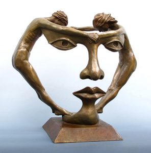 Alfano Sculpture - We Two Together