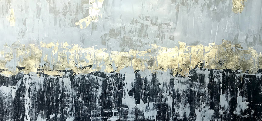 Elidea Art   Golden Horizon