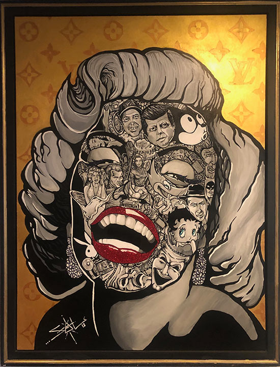 Sal Gaetan, The Marylin   Jason Perez Art